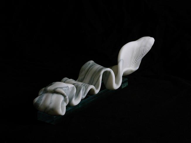 Silvina-Spravkin-Pietrasanta-Sculpture-Cobrata