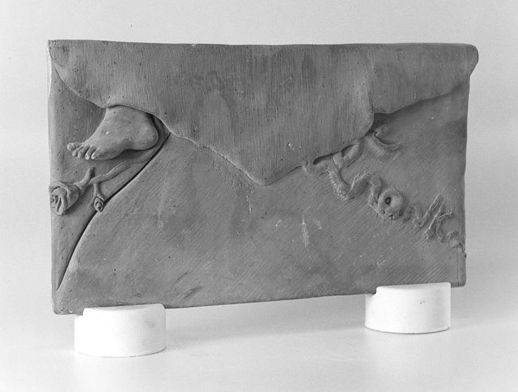 silvina-spravkin-Pietrasanta-Air-Mail-Bozzetto-marmo-scultura