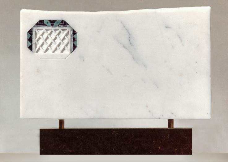 silvina-spravkin-Pietrasanta-Air-Mail-Fronte-marmo-scultura