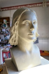 """You were my mine of stars"" my latest sculpture commission in Pietrasanta"