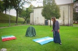 Silvina Spravkin | Monumento a Astor Piazzolla | Posa della Prima Pietra Lucca, Venerdi 19 Settembre,2014